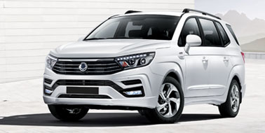 New SsangYong Turismo
